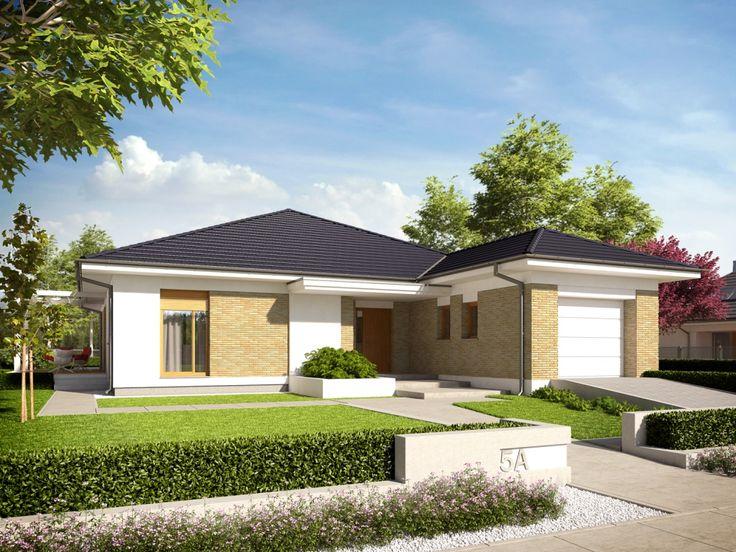 DOM.PL™ - Projekt domu AC Irma III G1 ENERGO PLUS CE - DOM AF8-19 - gotowy projekt domu