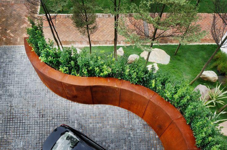 Steel Retaining Structures : Best retaining walls images on pinterest decks