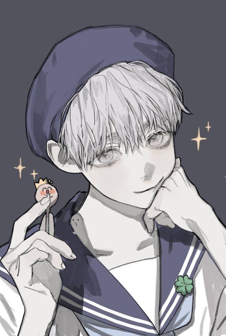 Art Digitalart Tattoo Design Anime Drawings Boy Cute Anime Guys Anime