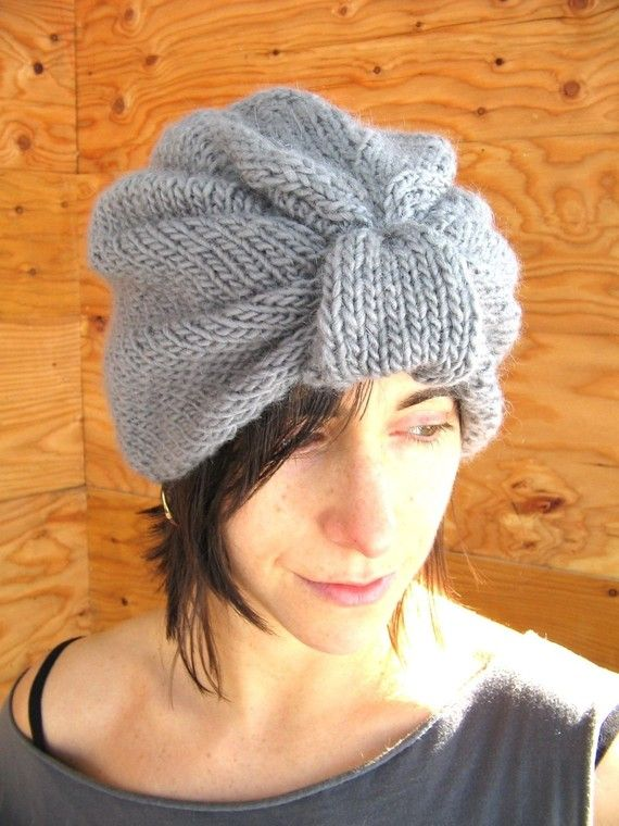 Knitting Pattern PDF Turban-ite Merino Wrap Turbans, Knitting and Knits