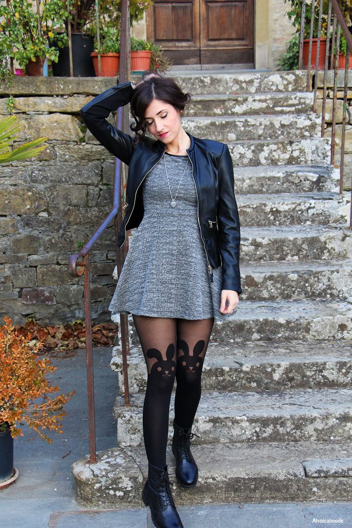Outfit collant CALZEDONIA collezione autunno/inverno 2015/2016