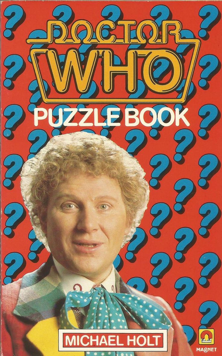 Doctor Who Puzzle Book by Michael Holt - Retro Doctor Who (1985) - Paperback - S/Hand