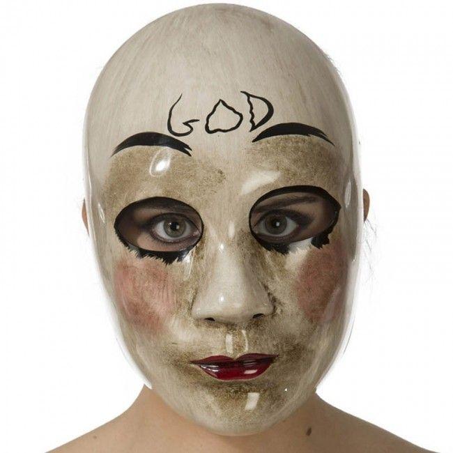Máscara La Purga God #máscaras #antifaces