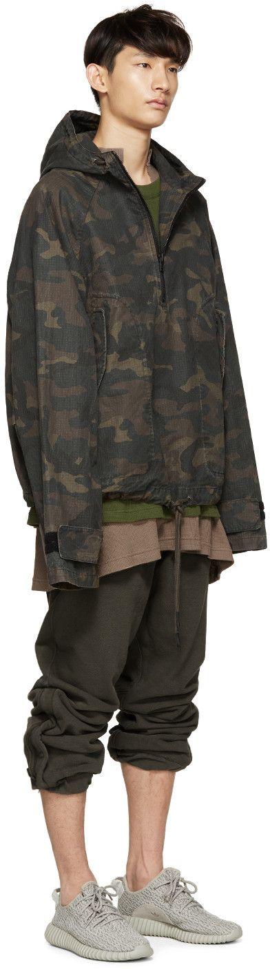 YEEZY Season 1 Brown & Green Camouflage Jacket