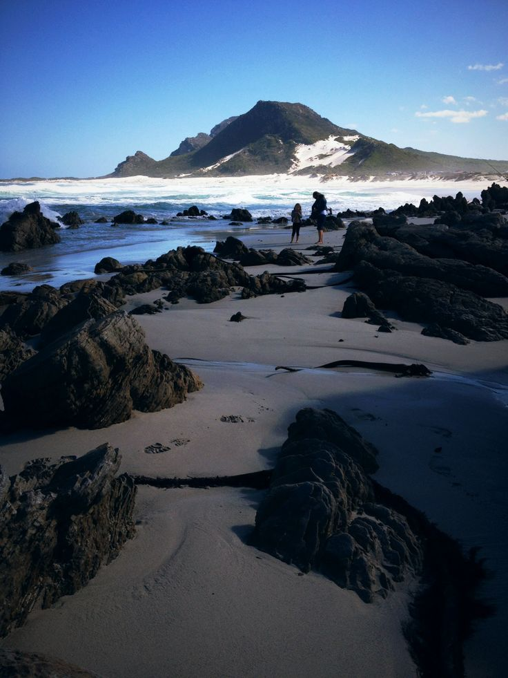 Sand dunes - Bettys Bay, Cape Town.