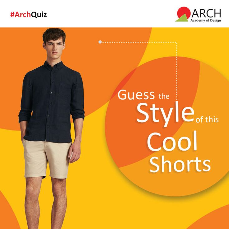 Do you know the style of these cool shorts? Comment your answers below.