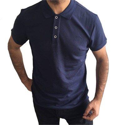 Erkek polo yaka kısa kollu lacivert tişört modellerini en ucuz fiyatlarıyla kapıda ödeme ve taksit ile Outlet Çarşım'dan satın al.