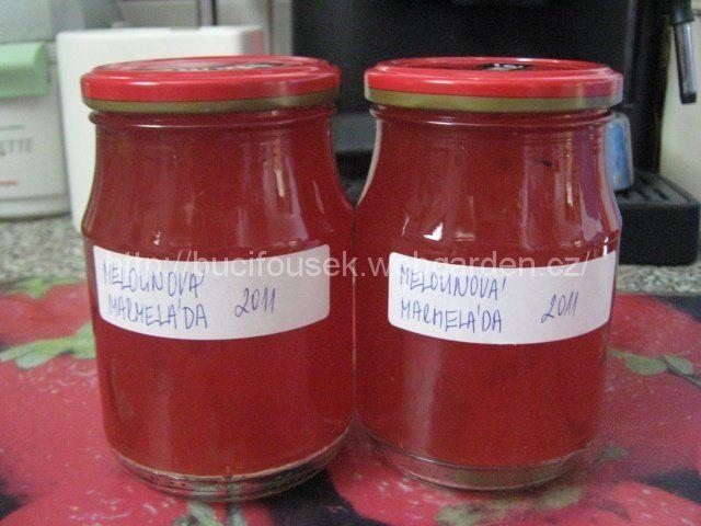 """Melounová marmeláda"" | JITULČINY RECEPTY"