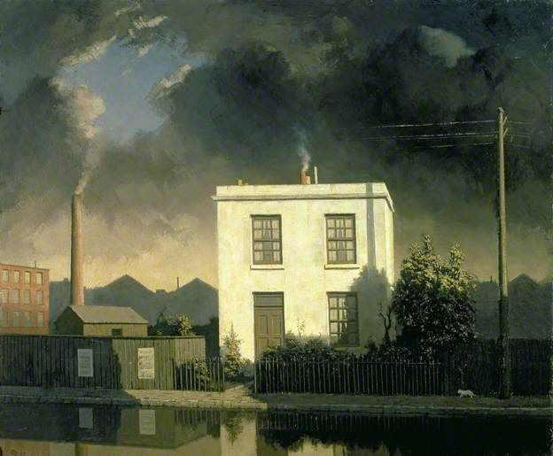 Algernon Newton, The House by the Canal, 1945 (Harris Museum & Art Gallery)