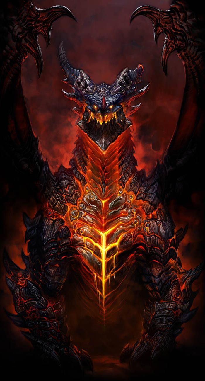 World of Warcraft: Cataclysm Art & Pictures,  Deathwing the Destroyer