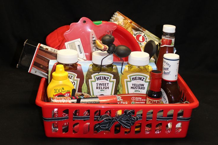 Relay for Life Picnic Gift Basket theme
