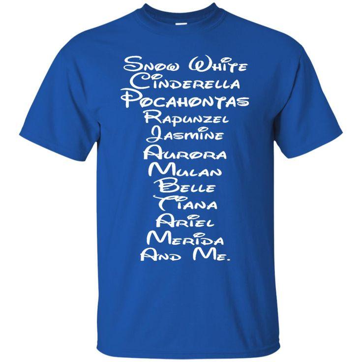 Disney Princesses T-shirts List Of Disney Princesses Shirts Hoodies Sweatshirts