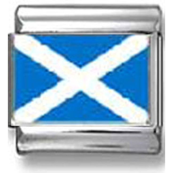 Scottish Flag Italia  Scottish Flag Italian charm ** To view further for this item, visit the image link. (This is an affiliate link and I receive a commission for the sales)
