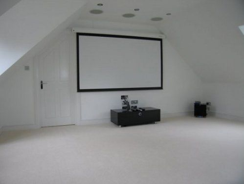 Cinema room Loft Conversion