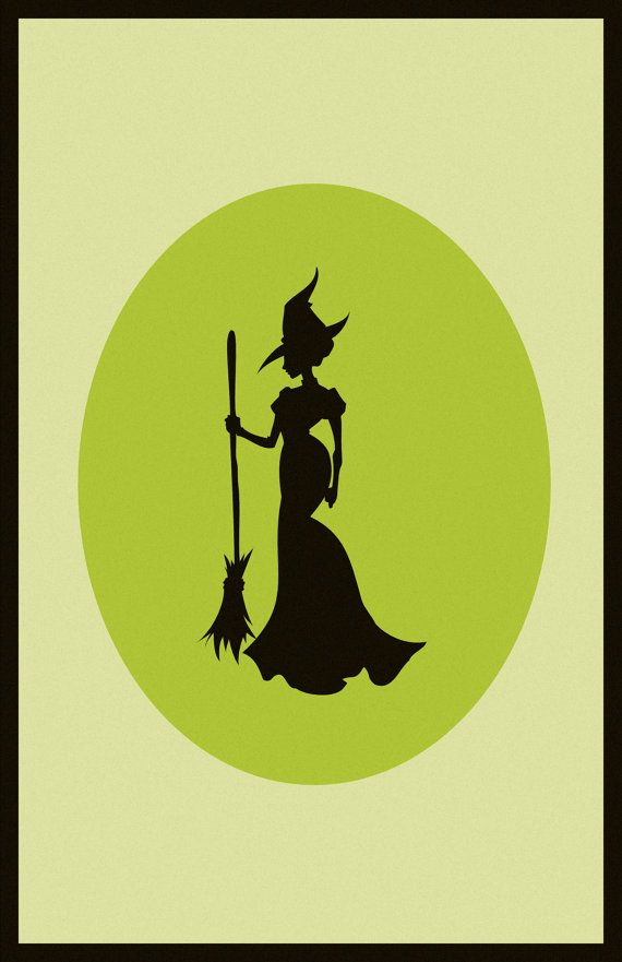 Green  Wicked Print by Laggy on Etsy, $16.00