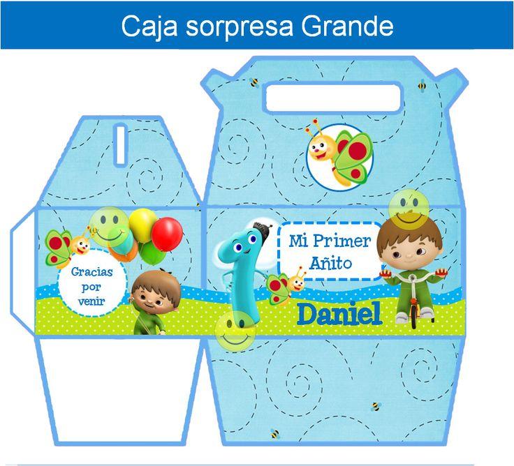 Kit Imprimible Baby Tv Charlie Y Los Numeros Tarjetas Y Mas - $ 39,99 en MercadoLibre
