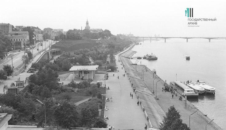 Ретрофото: Камская набережная во времена СССР