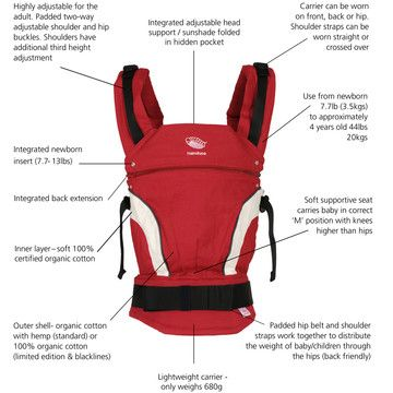 Manduca Baby Carrier is the perfect baby carrier for your baby's first years in life.
