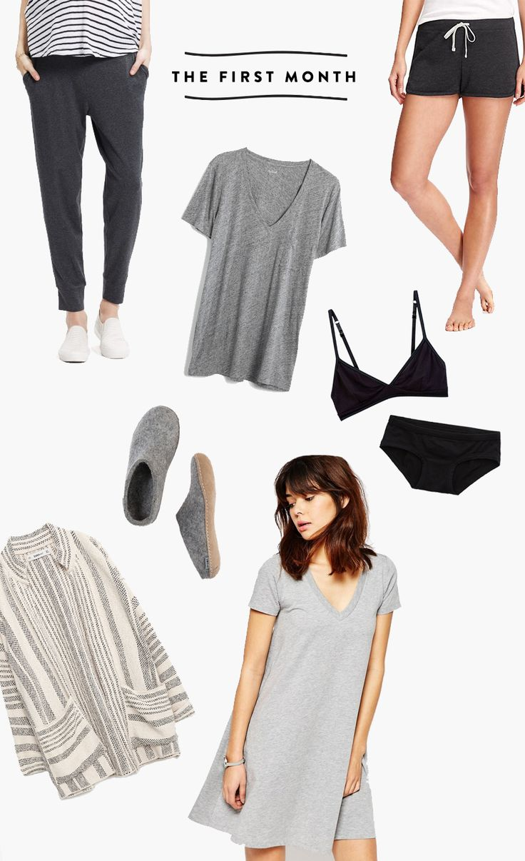 What to wear in the 4th Trimester Postpartum | The Fresh Exchange