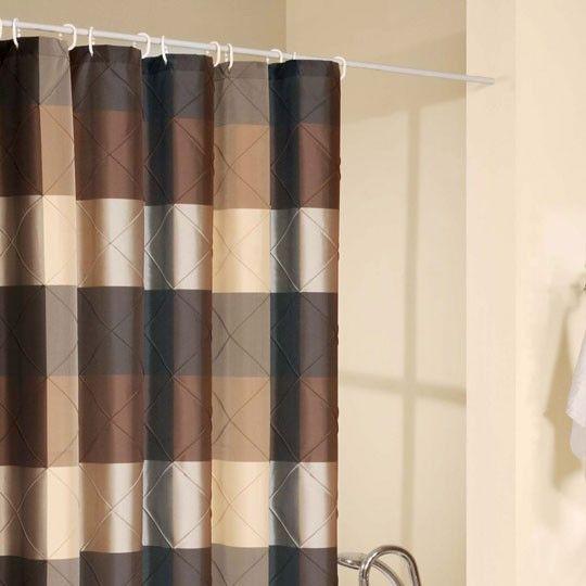 Royal Court Brown Shower Curtain   Annau0027s Linens $24.99