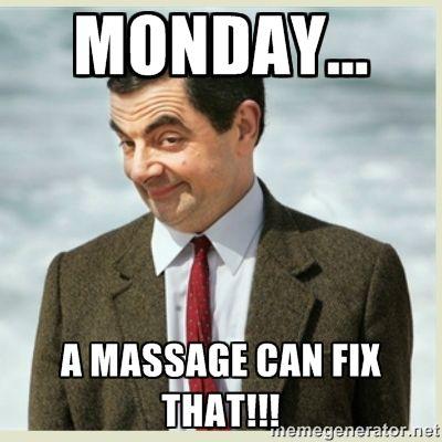 Massage Mondays! #WhyClary