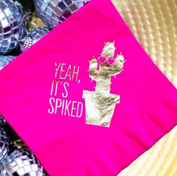 Can't have a fiesta without these cute beverage napkins! Shop Swoozies online now!
