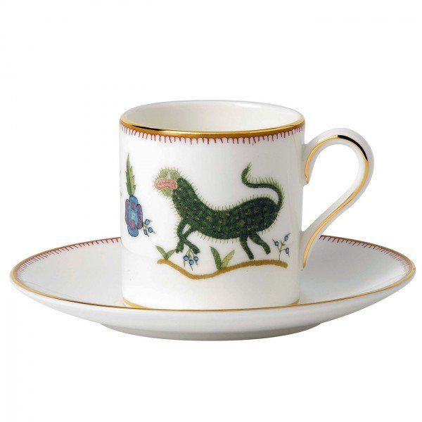Mythical Creatures Espresso Cup and Saucer, Gift Boxed
