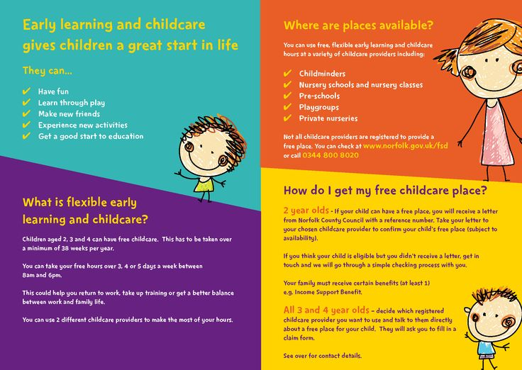Pin by Norfolk Family Info Service on Free Childcare for 2 Year - free claim form