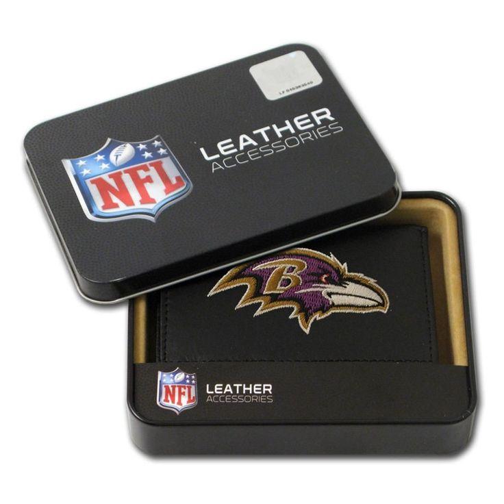 Rico Industries Baltimore Ravens Men's Tri-fold Wallet