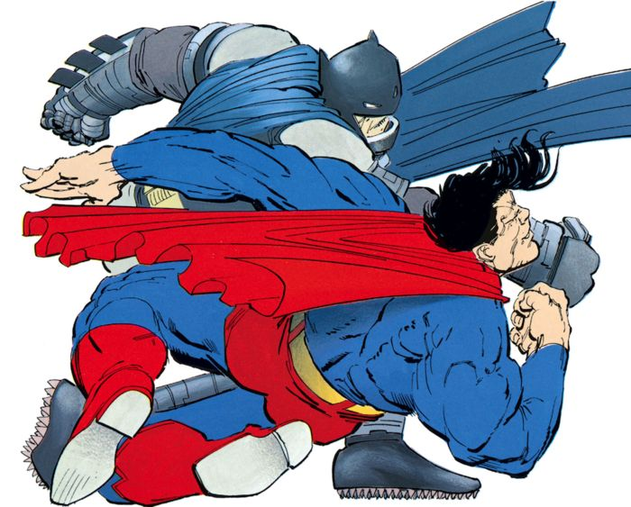 Batman Vs Superman by Frank Miller