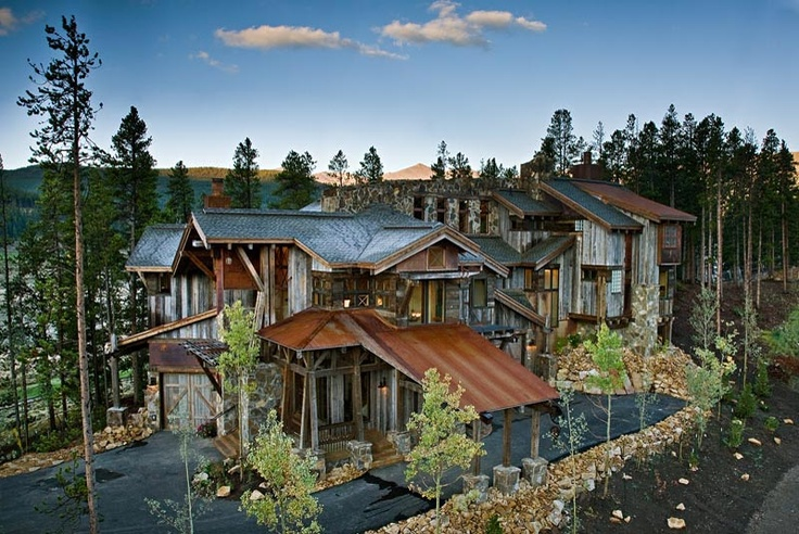 Designed to look like an old Mining Camp!
