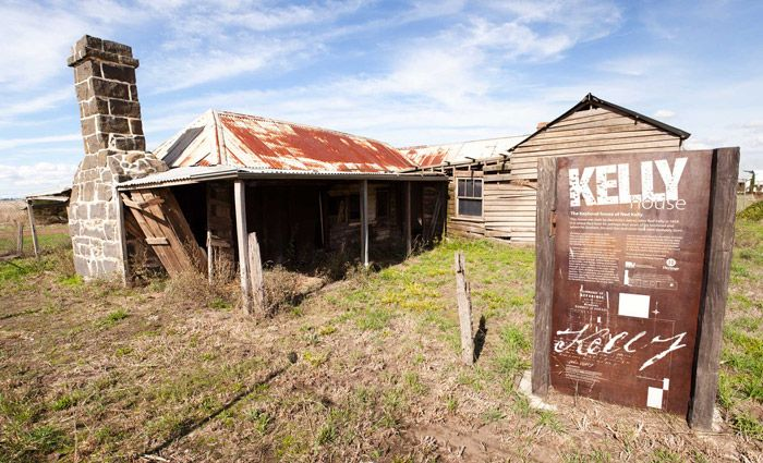 Bushranger Ned Kelly's Beveridge childhood home listed