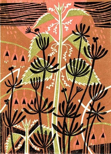 Nettles & Cleavers by Clare Curtis