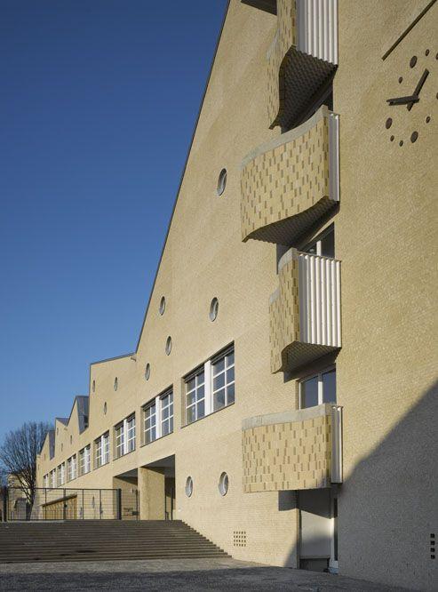 Educational Centre in Aschersleben | Lederer Ragnarsdóttir Oei