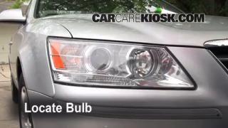 Parking Light Change 2006-2010 Hyundai Sonata