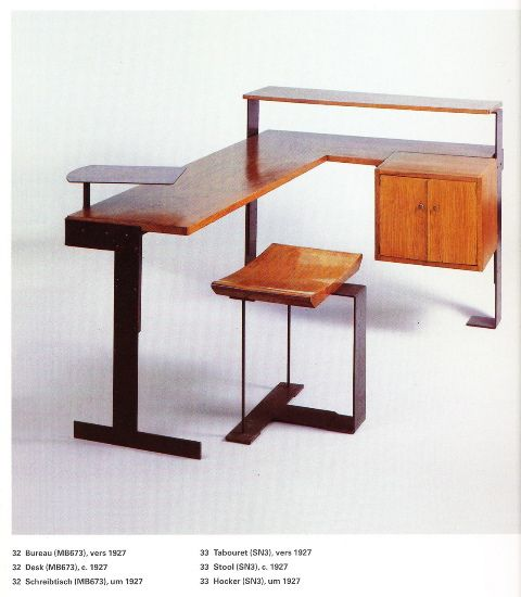 Desk and Chair used by Pierre Chareau c.1927