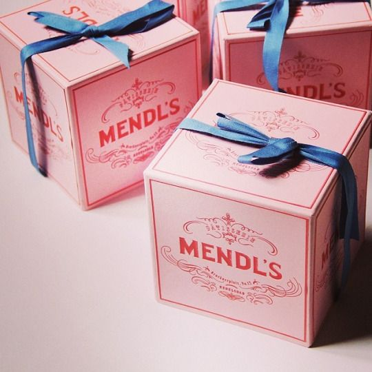 The Grand Budapest Hotel - Mendl's boxes