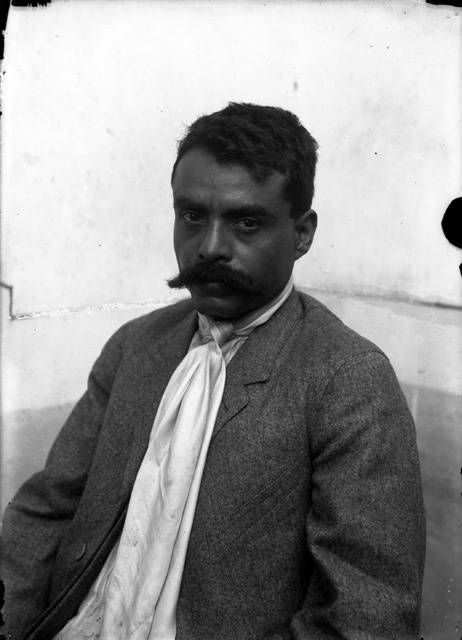 Emiliano Zapata (1879-1919) was a revolutionary who operated south of Mexico City. He had a vision of a Mexico where the poor could get land and freedom.