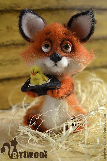 *NEEDLE FELT ~ Игрушки животные, ручной работы. Ярмарка Мастеров - ручная работа Людвиг. Handmade.