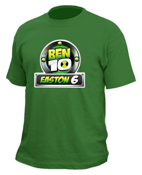 Customized BEN 10 Birthday Tshirt By RadicalProductions On Etsy 2500