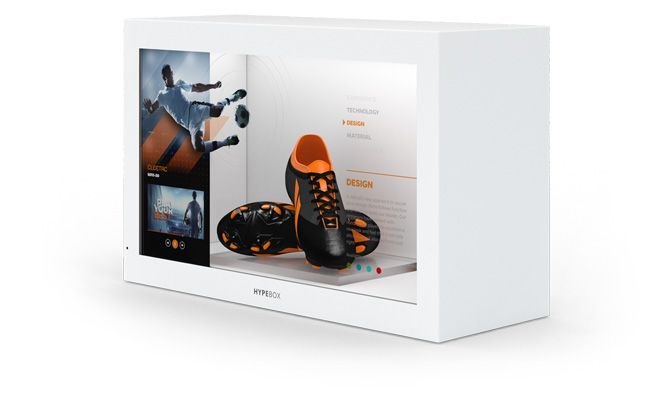 HypeBox Digital signage solutions, Digital signage