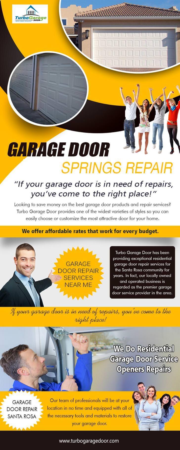 Garage Door Springs Repair Garage Door Spring Repair Garage Door Springs Garage Doors