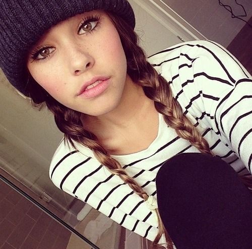 Super 1000 Ideas About Beanie Hairstyles On Pinterest Hat Hairstyles Hairstyles For Women Draintrainus