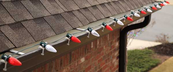 Choosing the right Clips for hanging Christmas Lights - Click for How-To's and information.