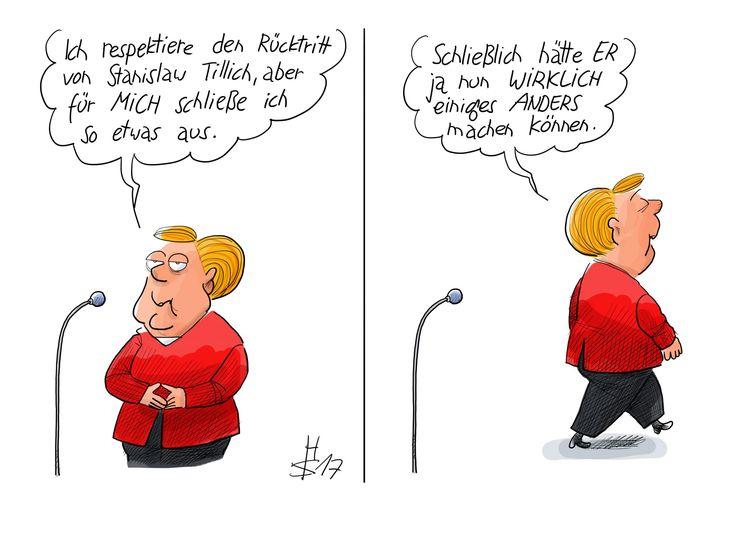 Merkel äußert sich über Tillich