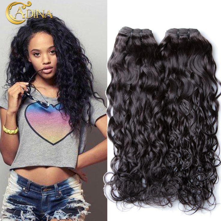 Brazilian Water Wave Virgin Hair 3 Bundle Deals Wet and Wavy Virgin Brazilian Hair Extension 7A Unprocessed Natural Curly Weave