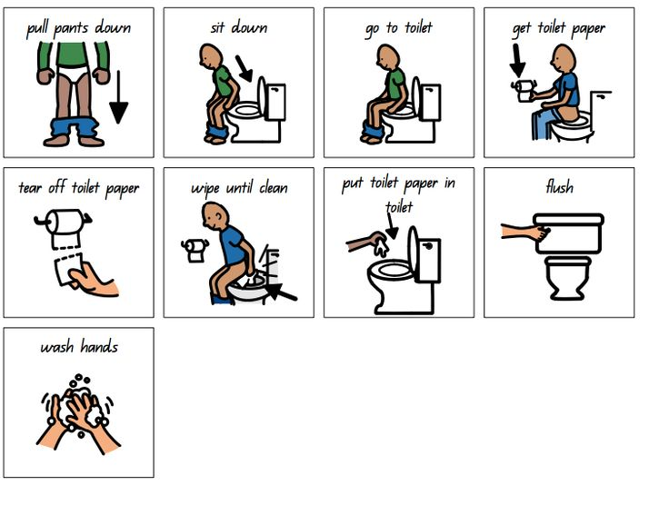 Toilet Schedule Preschool Reading Pinterest Toilets Visual Schedules And 10