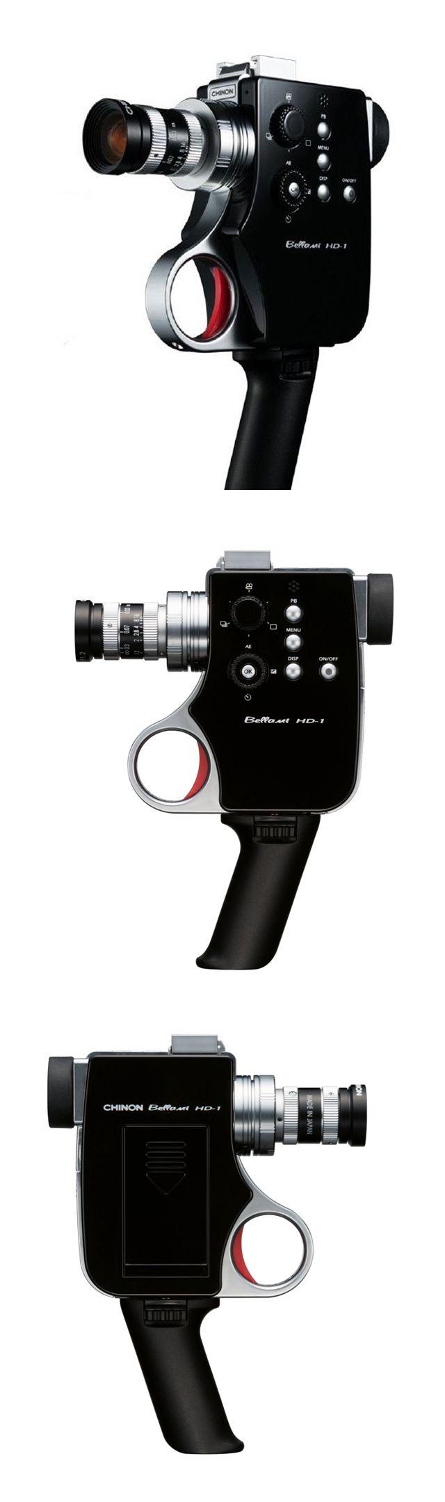 ☆ Chinon : Bellami HD-1 : Full HD Digital 8mm Interchangeable Lens Video Camera