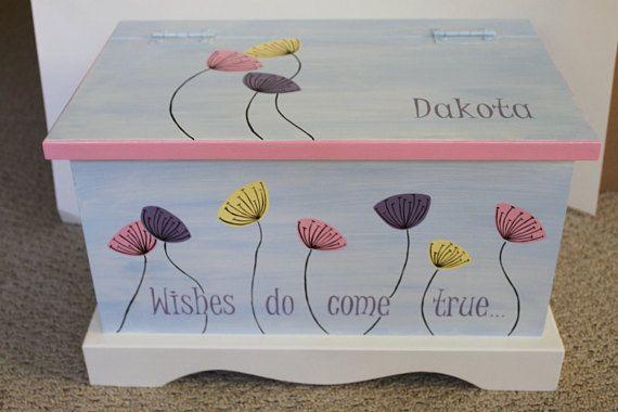 Baby keepsake box Wishes Do Come True Baby Keepsake Chest Box