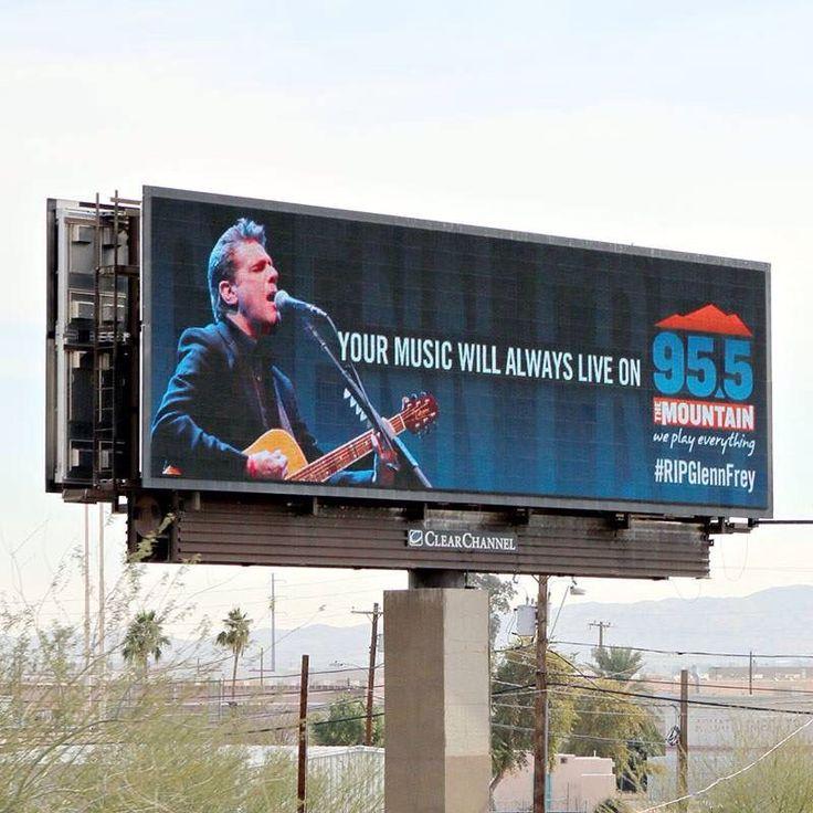 Phoenix 95.5 Radio Station did this beautiful tribute to Glenn Frey. Love it.